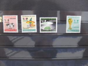 Ausgabe zur Fußball-WM 1986 in Mexiko:  Bolivien