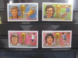 Ausgabe zur Fußball-WM 1986 in Mexiko:  Guinea Guinee