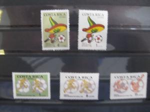 Ausgabe zur Fußball-WM 1986 in Mexiko:  Costa Rica