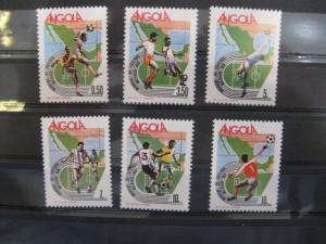 Ausgabe zur Fußball-WM 1986 in Mexiko:  Angola