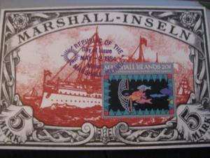 Maximumkarte Marshall-Inseln 1984