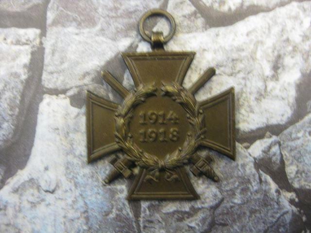 Ehrenkreuz des Weltkrieges, Ehrenkreuz des 1. Weltkrieges