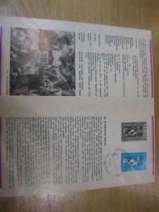Belgien, Ankündigungsblatt mit Schwarzdruck: Sport,Olympische Sommerspiele 1972