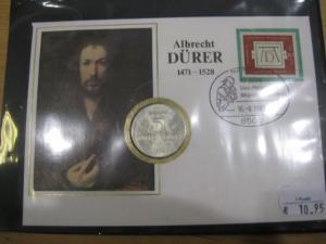 Numisbrief, Münzbrief Bundesrepublik Deutschland: Albrecht Dürer