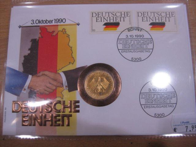 Numisbrief, Münzbrief Bundesrepublik Deutschland: Deutsche Einheit