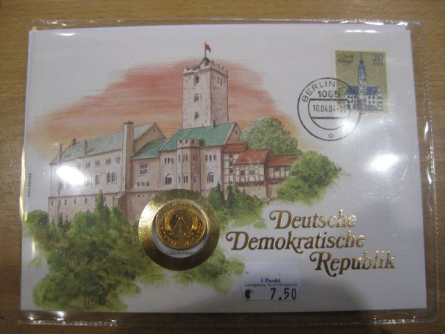 Numisbrief DDR