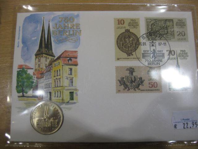 DDR Numisbrief 750 Jahre Berlin