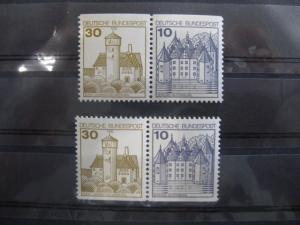 Zusammendrucke ZD Burgen & Schlösser