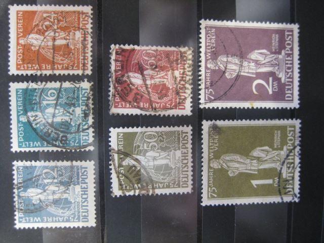 Weltpostverein UPU Michel-Nummer: 35-41