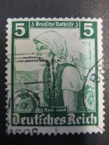 Nothilfe Trachten 1935: 5+3 Pf.