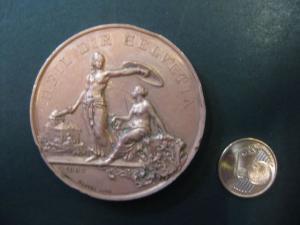 Schweiz, Medaille Heil Dir Helvetia