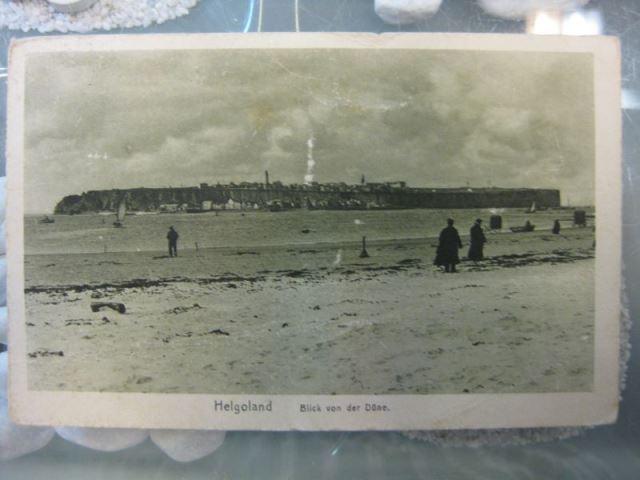Helgoland, Blick von der Düne auf die Insel