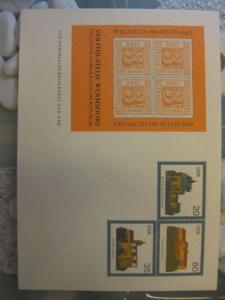 Ganzsachenumschlag U1 mit Zudruck PHILATELIA 1984 Stuttgart