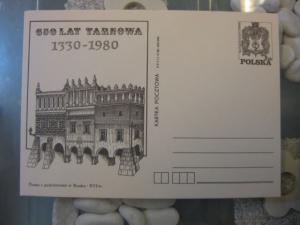 Ganzsache, Postkarte Polen