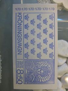 Schweden, Markenheft Krönungskarosse; 1978; postfrisch