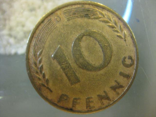 10 Pfennig 1950 Münze München D Oldthing Brd Dm Pfennig