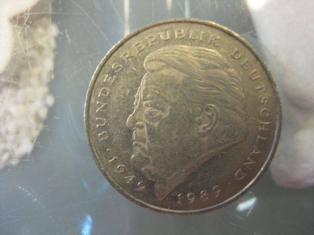 2 Dm Münze Franz Josef Strauss 1992 J Oldthing Brd Dm Gedenkmünzen