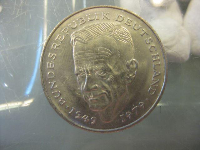 2 Dm Münze Kurt Schumacher 1981 F Oldthing Brd Dm Gedenkmünzen