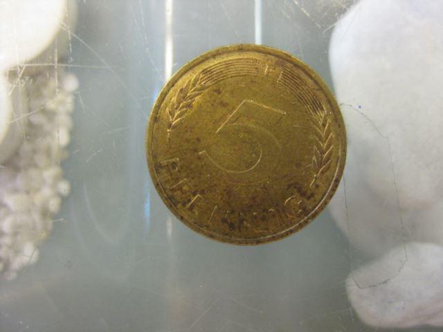 5 Pfennig, 1977 Münze Stuttgart,