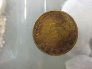 5 Pfennig, 1969 Münze Stuttgart,