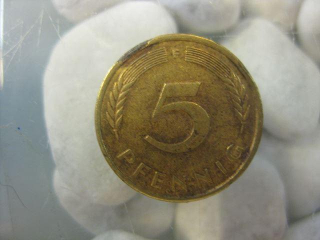 5 Pfennig, 1976 Münze Stuttgart,