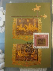 Maximumkarte Tag der Briefmarke 1980