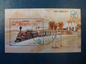 Eisenbahn, Block, Cuba