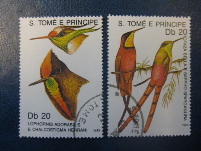 S. Tome e Principe, Vögel, 2 Werte