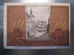 Notgeld Strelitz, 50 Pf.