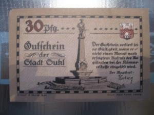 Notgeld Suhl, 30 Pf.