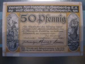 Notgeld Schweich, 50 Pf.