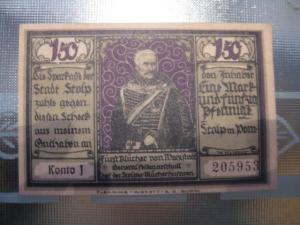 Notgeld Stopp i. Pommern, 150 Pf.