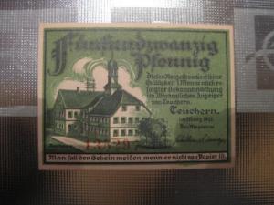 Notgeld Teuchern, 25 Pf.