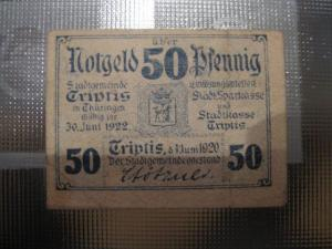 Notgeld Triptis, 50 Pf.