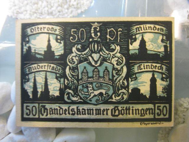 Notgeld Göttingen, 50 Pf.