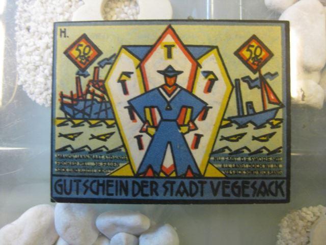Notgeld Vegesack, 50 Pf.