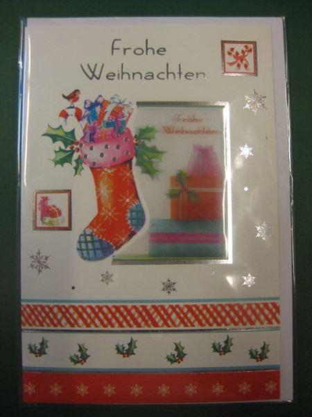 Weihnachtskarte, 3D-Karte, Klappkarte mit Umschlag; neue Karte aus der Collection 2014