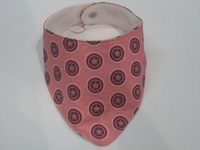 Halstuch mit Druckknopf