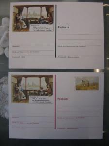 Postkarten mit Sonderwertstempel; Ganzsachen, PSo 11 ohne Wertstempel