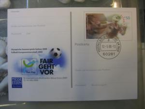 Sonderpostkarte PSo68, Messe Essen 2000