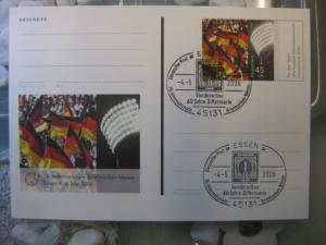 Pluskarte Sonderpostkarte PSo 93, 16. Internationale Briefmarken-Messe Essen 2006
