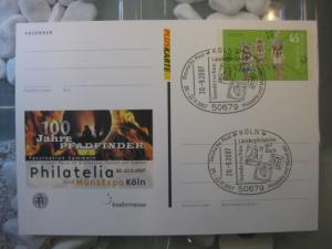 Pluskarte Sonderpostkarte PSo 96, Philatelia Köln 2007