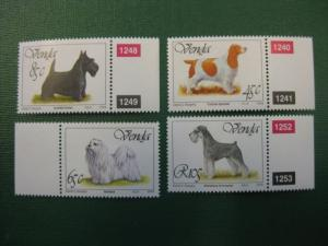 Hunde, 4 Werte, Venda, 1994