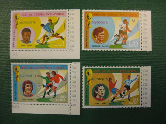 Äquatorialguinea Briefmarken 14 Gestempelte Werte.