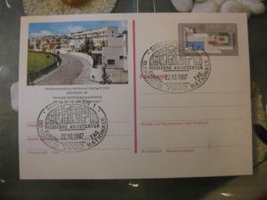 Sonderpostkarte PSo14, Südposta `87