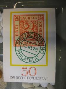 Sonderpostkarte PSo5, Tag der Briefmarke 1978