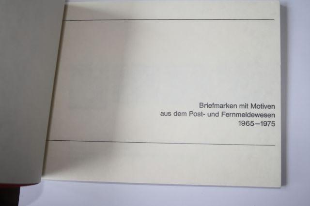 Ministerbuch Der Deutsche Bundespost Zur 13 Europa Konferenz Der