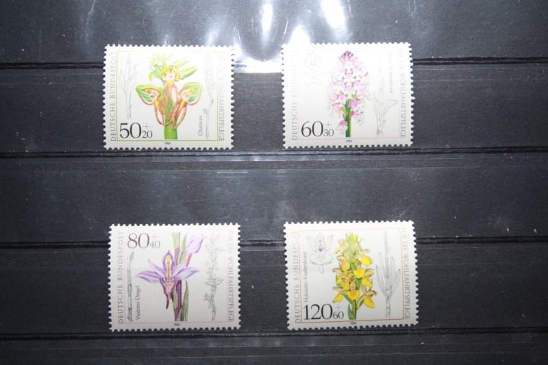 Für die Wohlfahrtspflege 1984, Orchideen