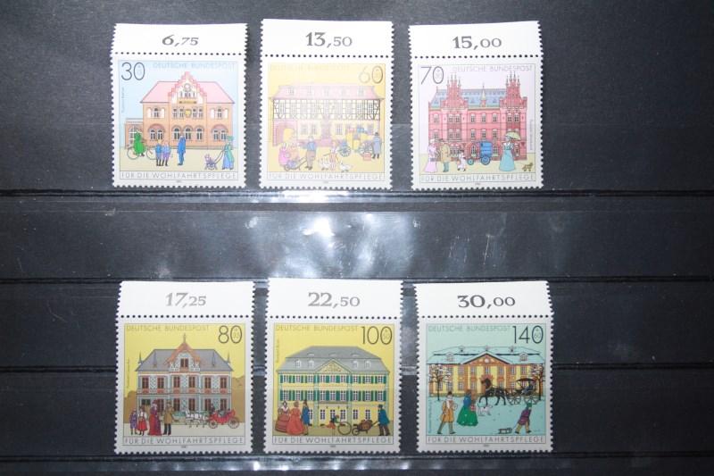 Für die Wohlfahrtspflege 1991, Posthäuser