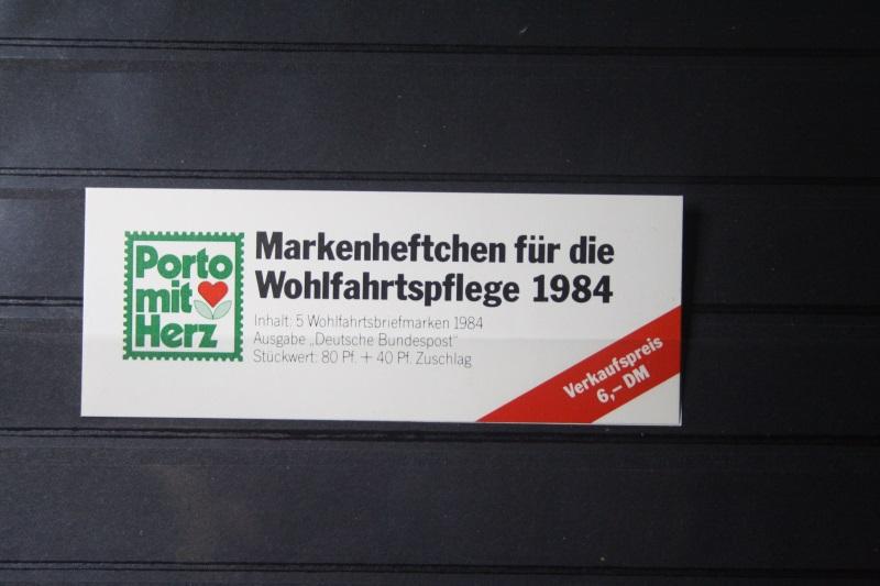 Markenheftchen für die Wohlfahrtspflege 1984